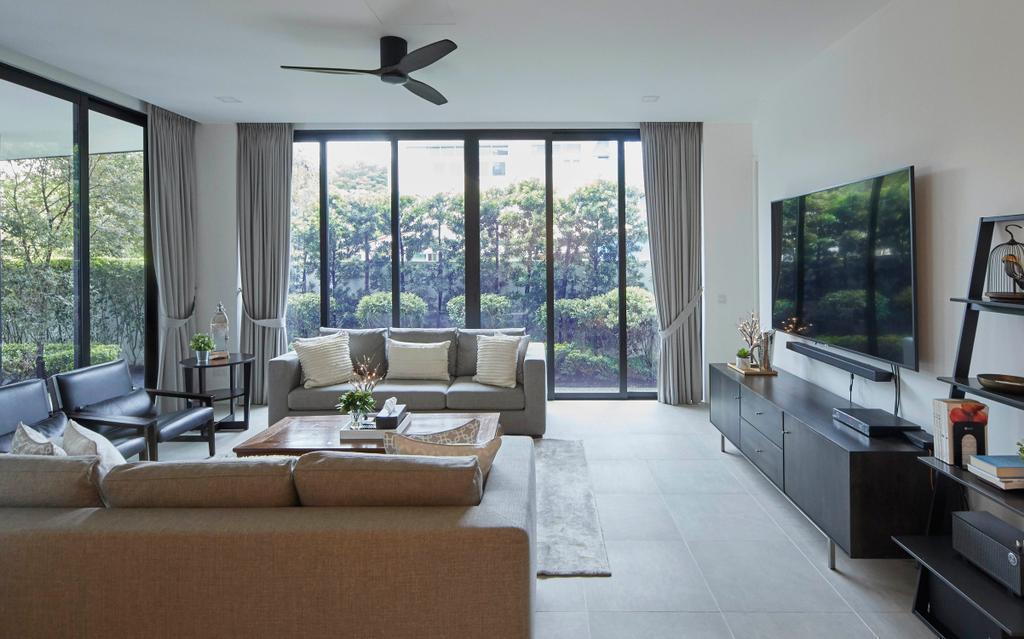 Modern, Landed, Living Room, Princess of Wales, Interior Designer, The Interior Lab, Contemporary