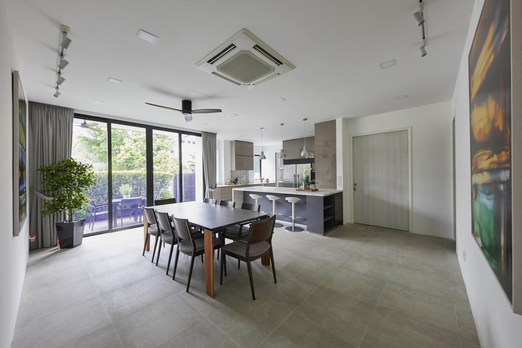Modern, Landed, Dining Room, Princess of Wales, Interior Designer, The Interior Lab, Contemporary