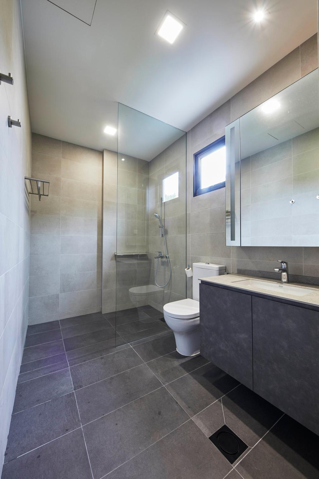 Modern, Landed, Bathroom, Princess of Wales, Interior Designer, The Interior Lab, Contemporary