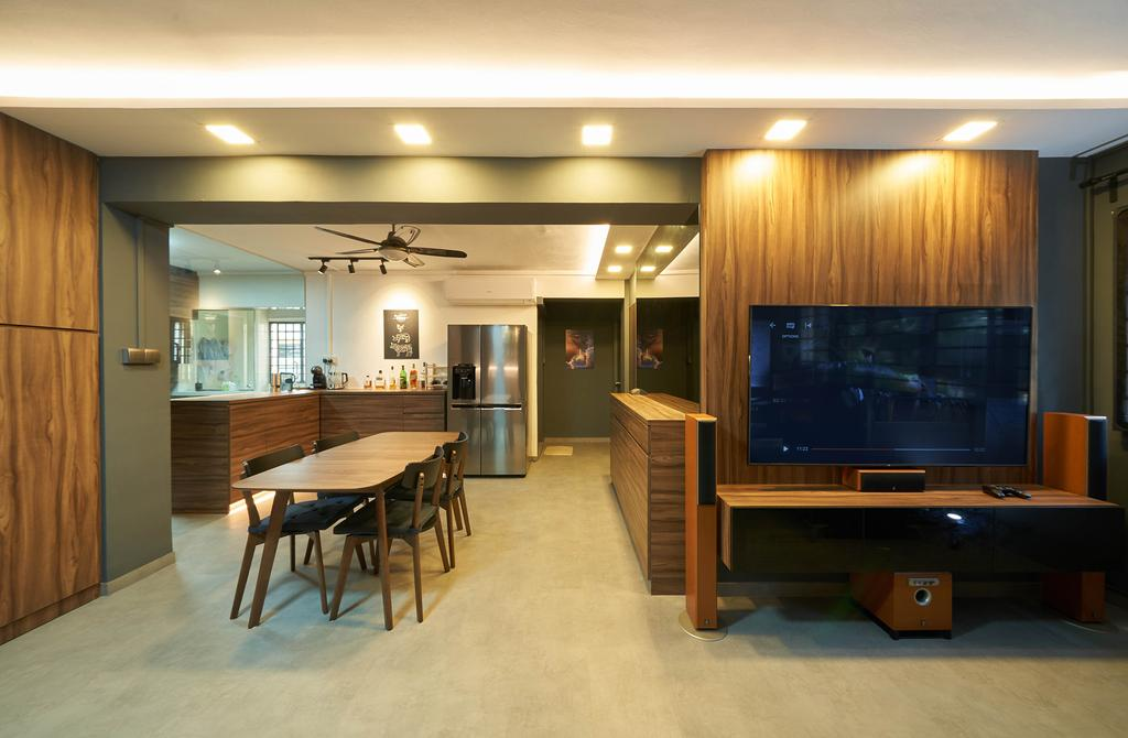 Contemporary, HDB, Living Room, Commonwealth Avenue, Interior Designer, Aritz Design & Construction