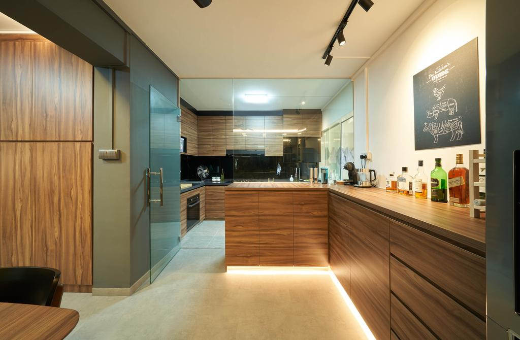 Contemporary, HDB, Living Room, Commonwealth Avenue, Interior Designer, Aritz Design & Construction