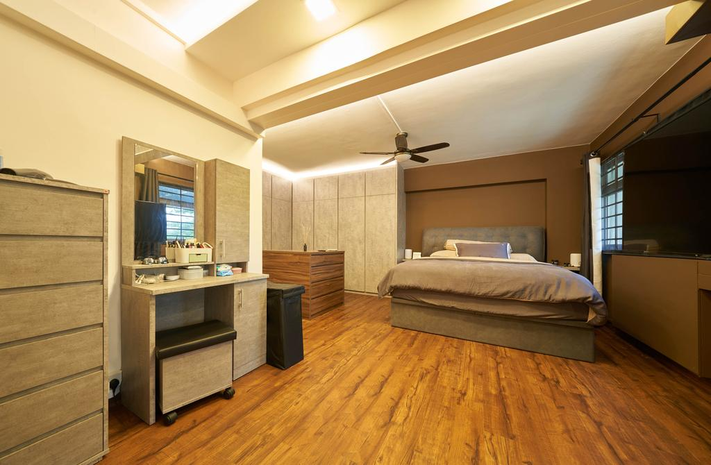 Contemporary, HDB, Bedroom, Commonwealth Avenue, Interior Designer, Aritz Design & Construction