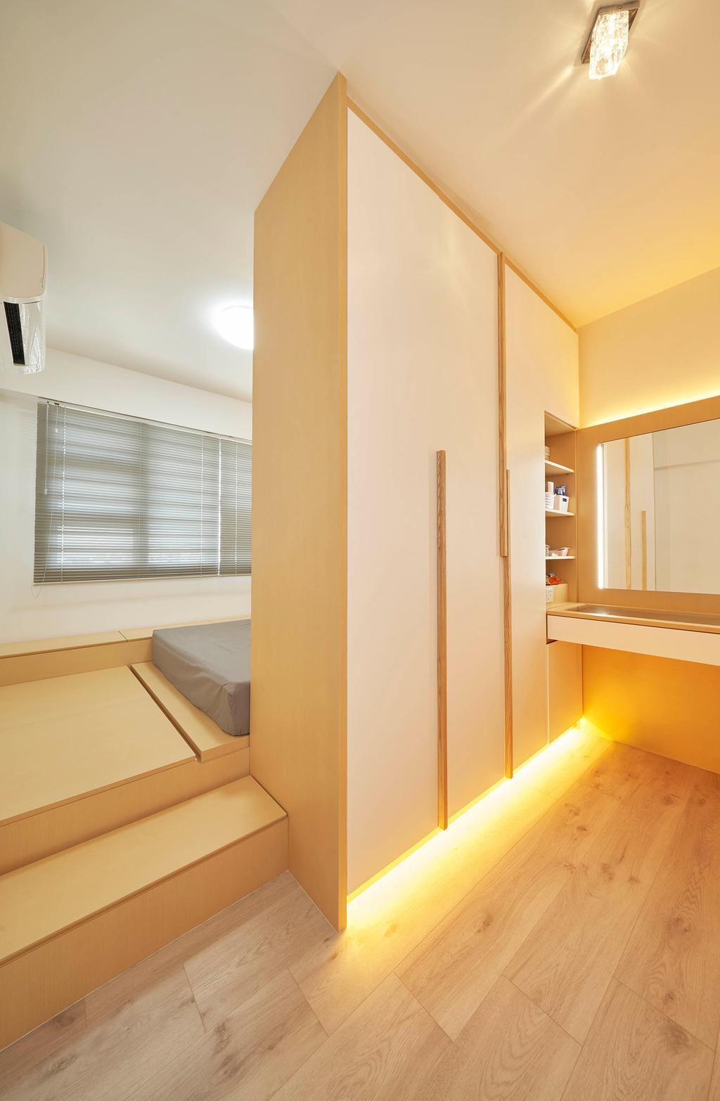 Modern, HDB, Bedroom, Bukit Batok West Avenue 9, Interior Designer, Aritz Design & Construction, Scandinavian