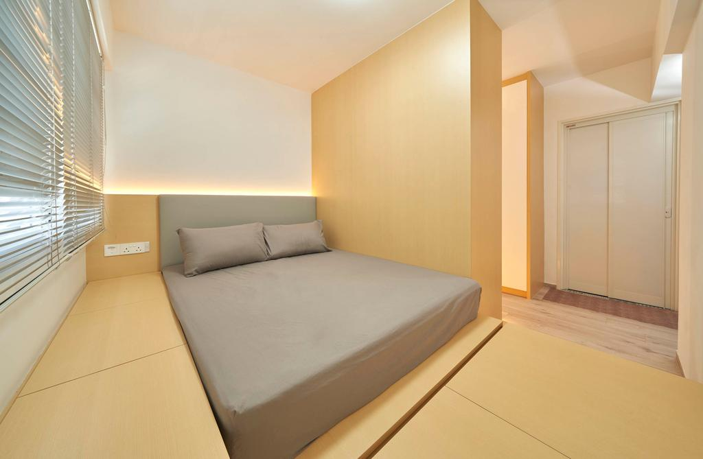 Modern, HDB, Bedroom, Bukit Batok West Avenue 9, Interior Designer, Aritz Design & Construction, Scandinavian