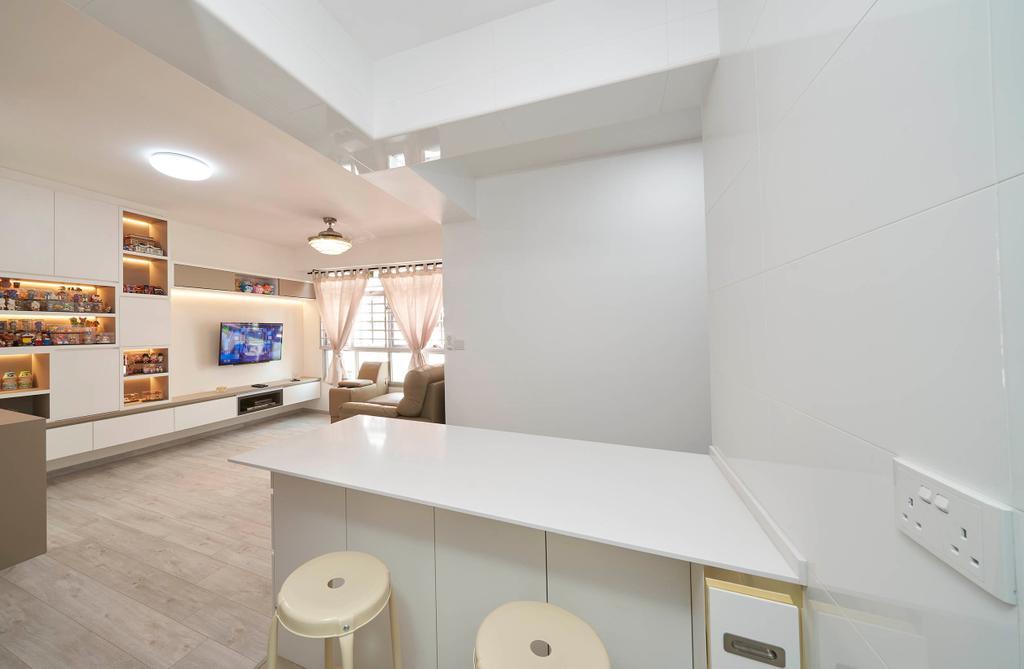 Modern, HDB, Living Room, Bukit Batok West Avenue 9, Interior Designer, Aritz Design & Construction, Contemporary