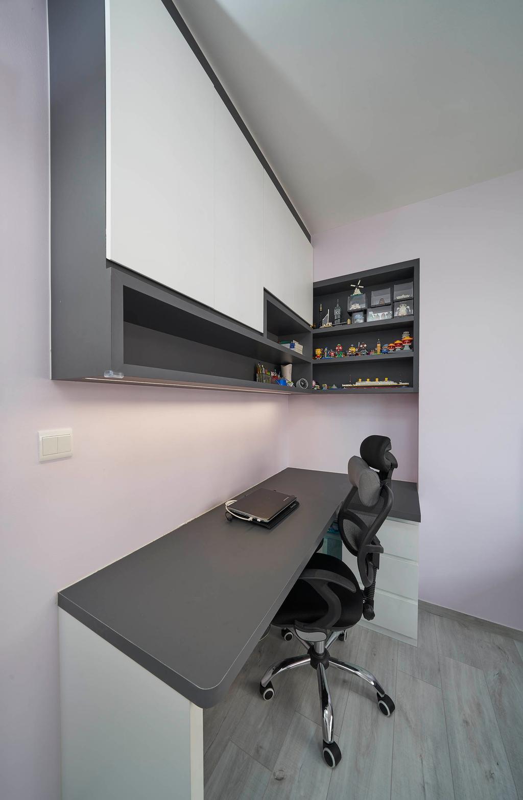 Modern, HDB, Study, Bukit Batok West Avenue 9, Interior Designer, Aritz Design & Construction, Contemporary