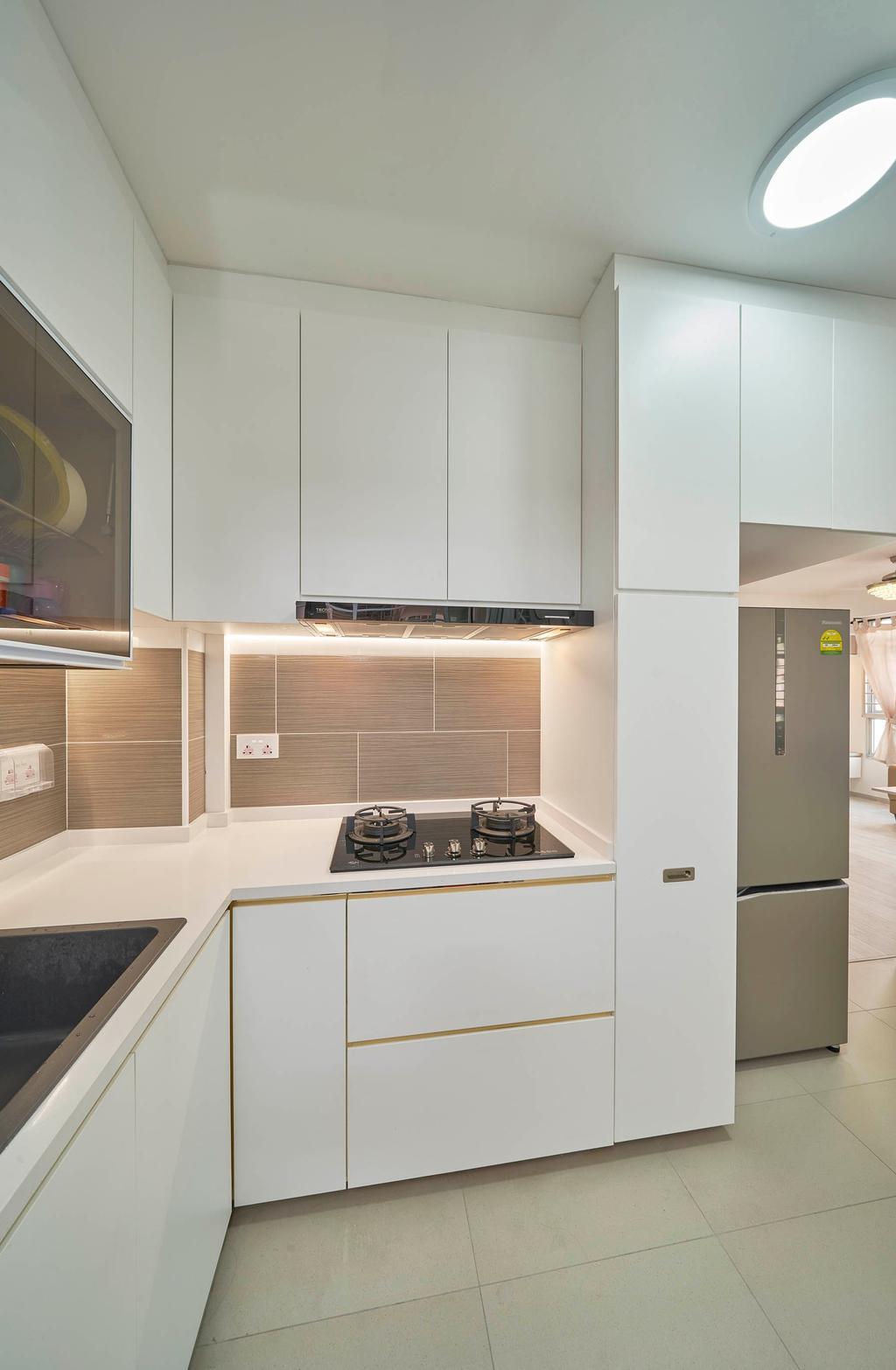 Modern, HDB, Kitchen, Bukit Batok West Avenue 9, Interior Designer, Aritz Design & Construction, Contemporary
