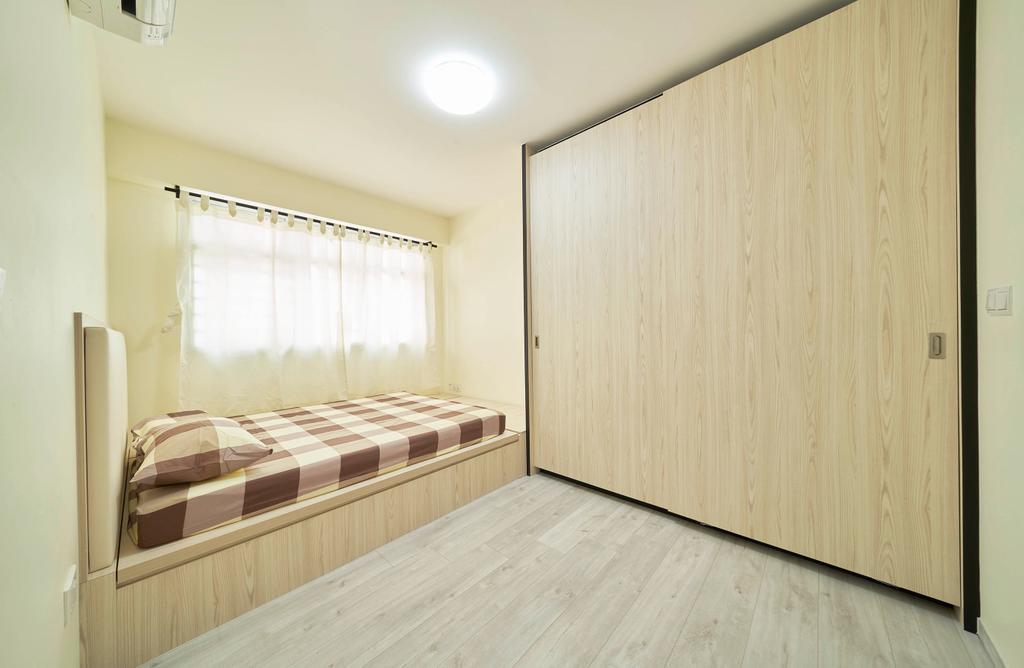 Modern, HDB, Bedroom, Bukit Batok West Avenue 9, Interior Designer, Aritz Design & Construction, Contemporary