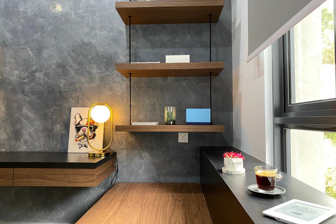 Setia Sky Vista Condo, Penang, Catappa Design Studio, Modern, Contemporary, Study, Condo