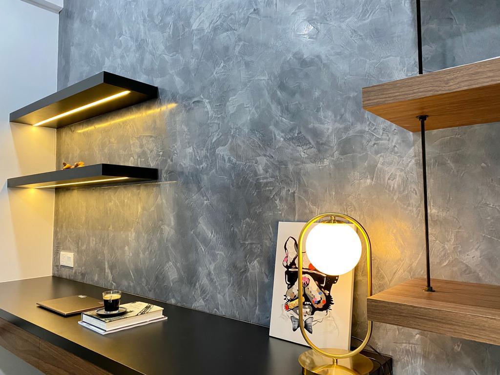 Modern, Condo, Study, Setia Sky Vista Condo, Penang, Interior Designer, Catappa Design Studio, Contemporary