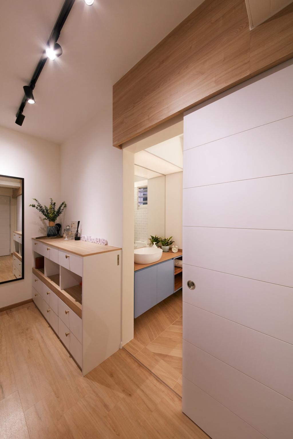 Scandinavian, HDB, Bathroom, Bukit Batok West, Interior Designer, Free Space Intent