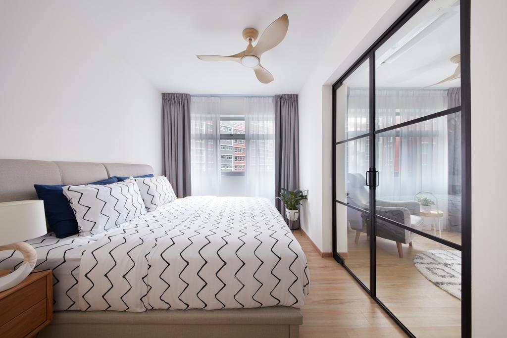 Scandinavian, HDB, Bedroom, Bukit Batok West, Interior Designer, Free Space Intent
