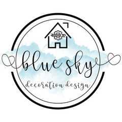 Blue Sky Decoration Design