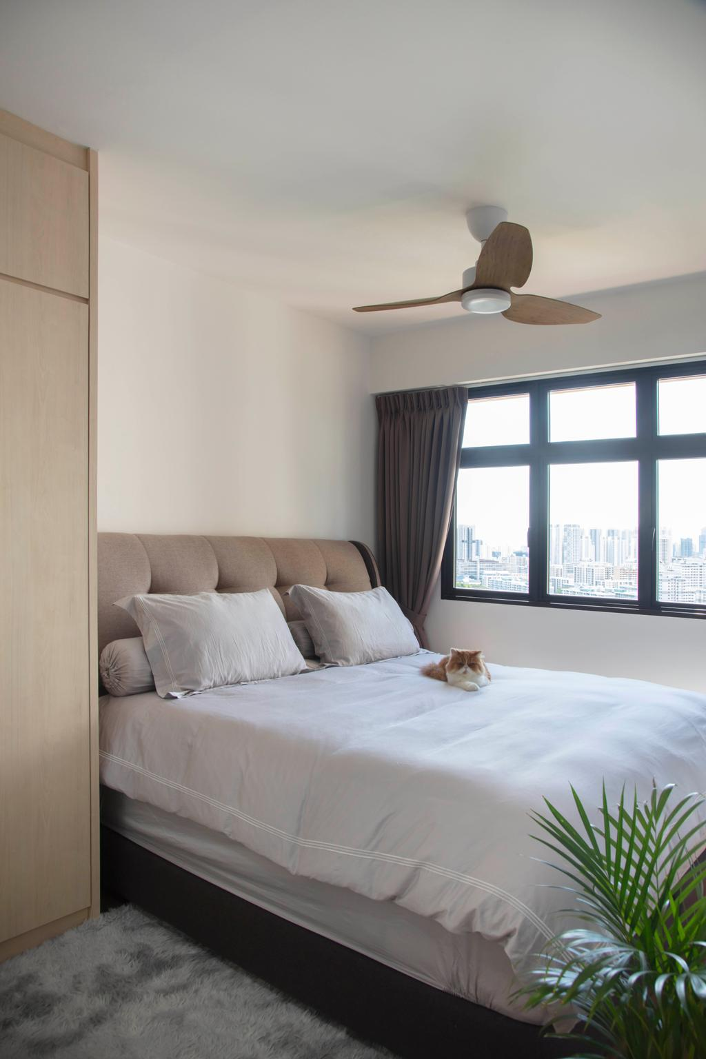 Modern, HDB, Bedroom, Toa Payoh East, Interior Designer, ECasa Studio, Scandinavian