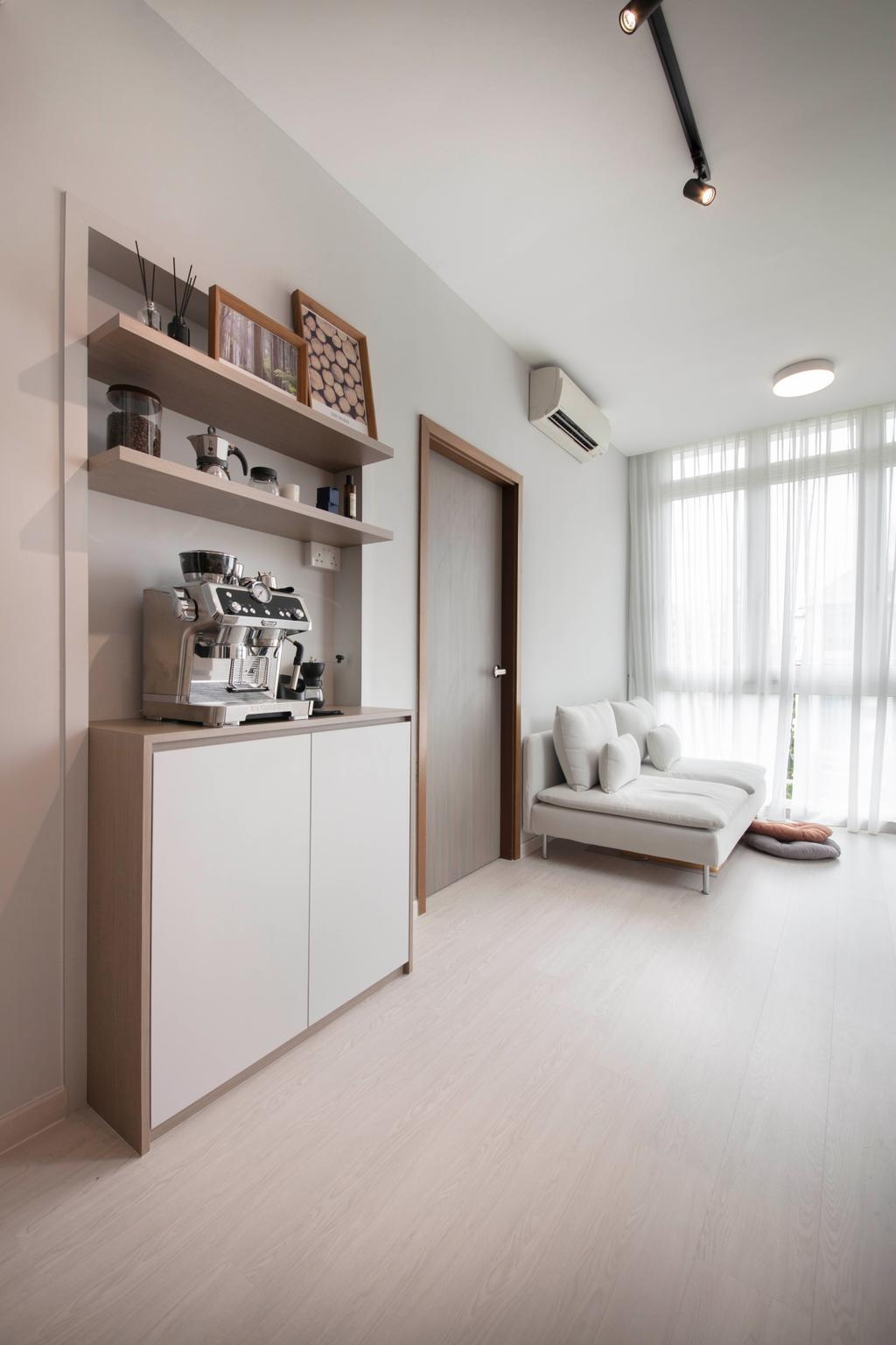 Modern, Condo, Living Room, The Hillford, Interior Designer, ECasa Studio, Scandinavian