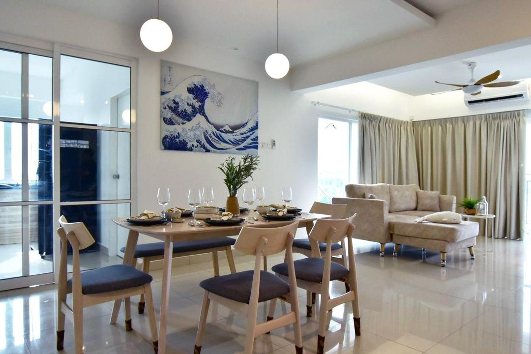 Puchong, Selangor, JRC ID CONTRACT, Dining Room, Apartment