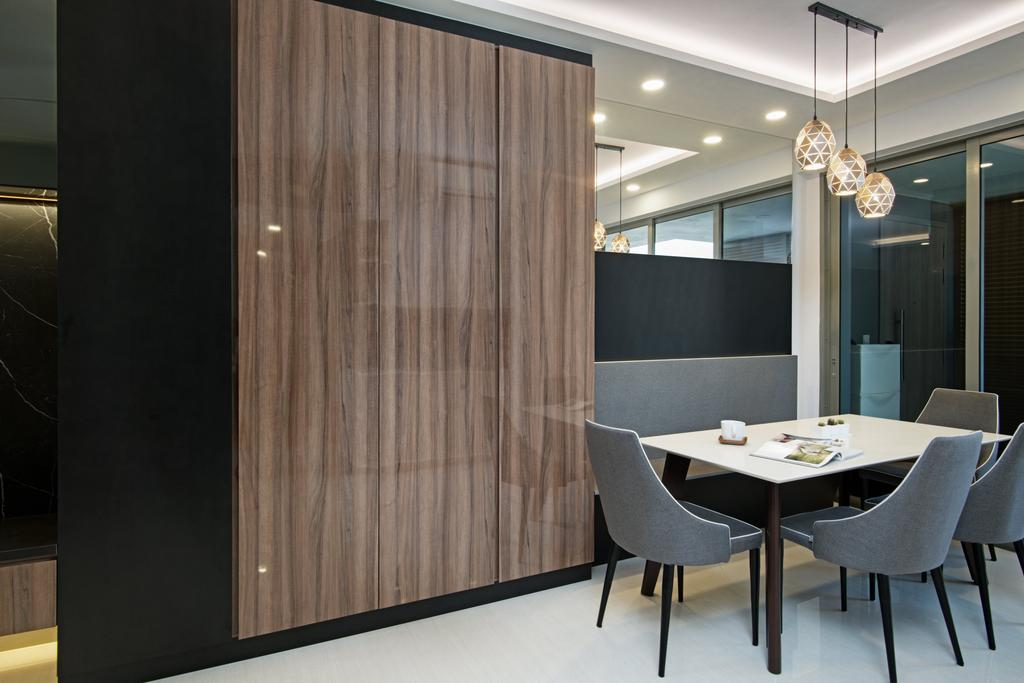 Modern, Condo, Dining Room, Sol Acres, Interior Designer, New Age Interior