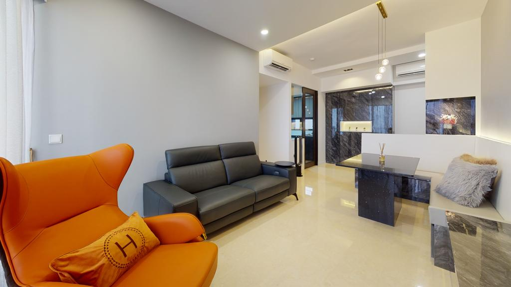 Contemporary, Condo, Living Room, The Boutique, Interior Designer, New Age Interior