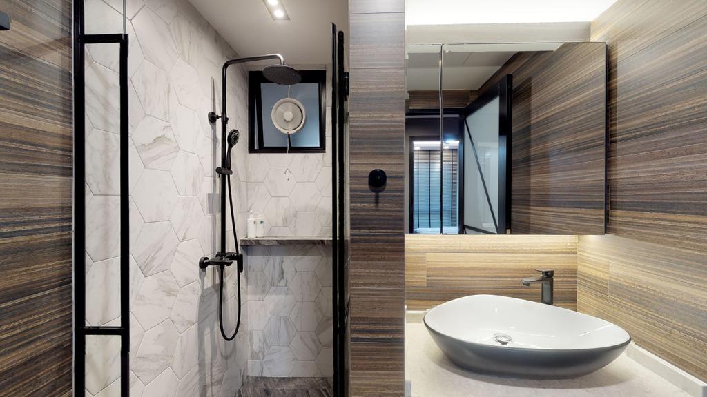 Modern, Condo, Bedroom, The Emerald, Interior Designer, New Age Interior, Contemporary