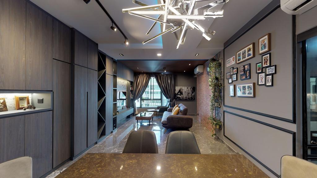 Modern, Condo, Dining Room, The Emerald, Interior Designer, New Age Interior, Contemporary