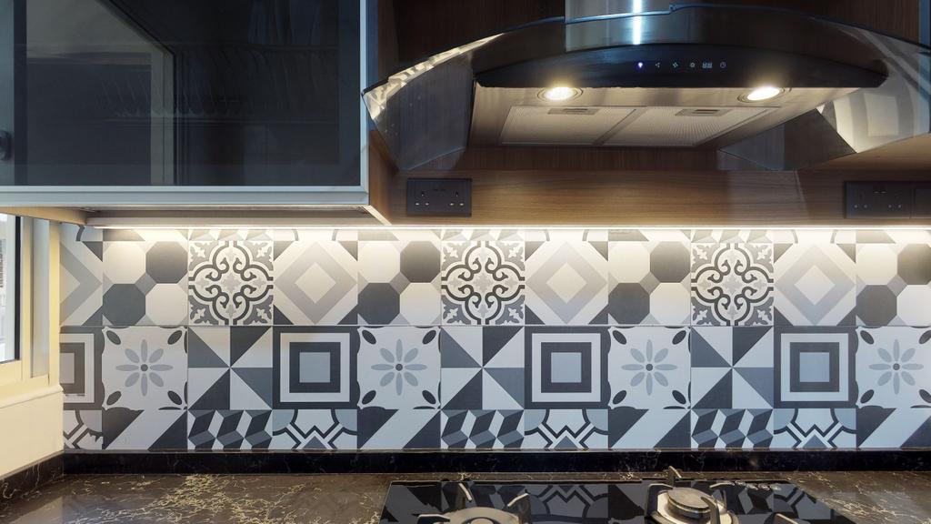 Modern, Condo, Kitchen, The Emerald, Interior Designer, New Age Interior, Contemporary