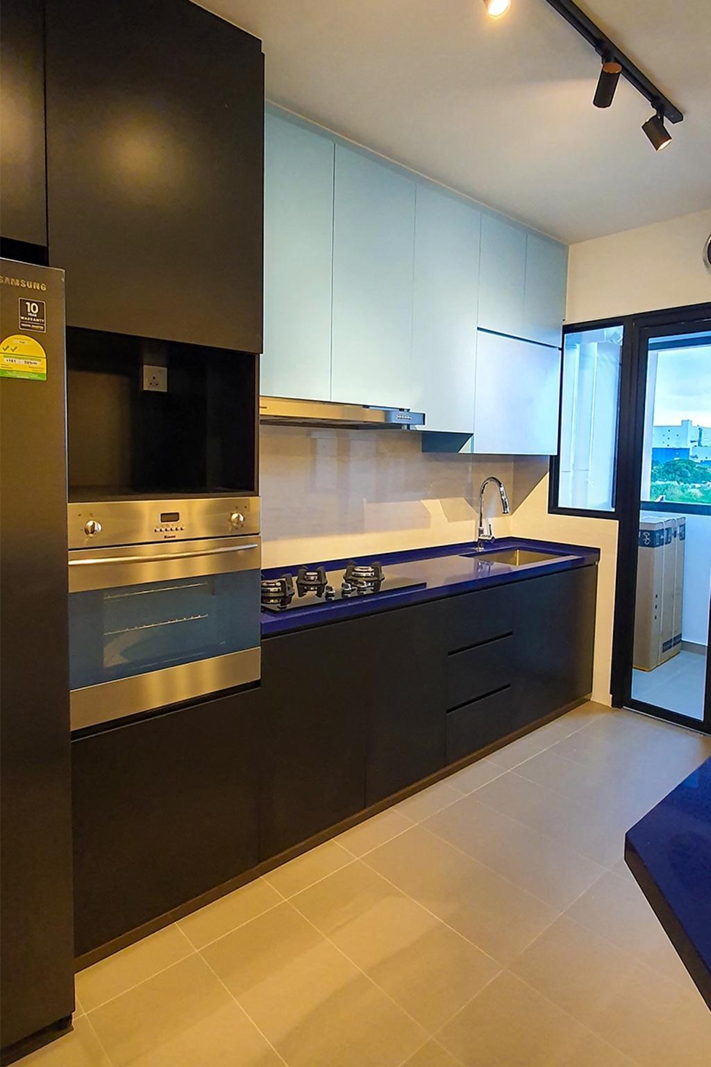 Contemporary, HDB, Kitchen, Tampines North Drive 1, Interior Designer, Conception Studio
