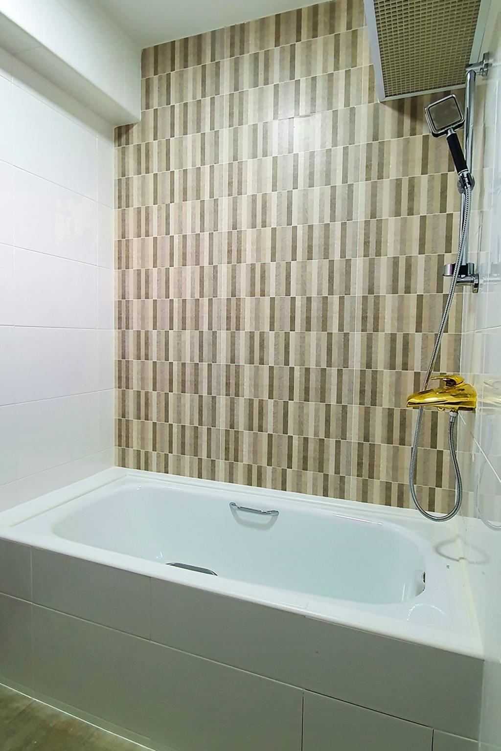 Contemporary, HDB, Bathroom, Tampines North Drive 1, Interior Designer, Conception Studio
