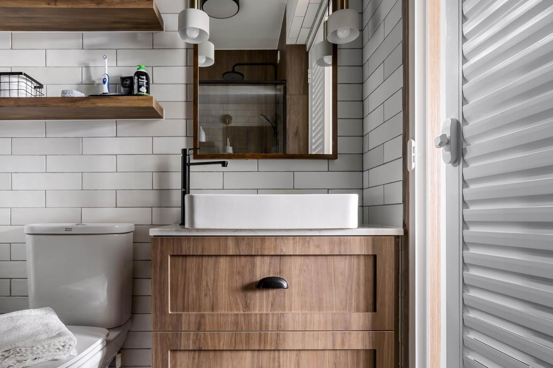 Anchorvale Lane, Ethereall, Traditional, Transitional, Bathroom, HDB
