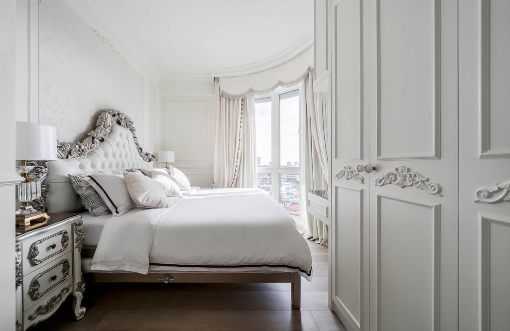 Vintage, Condo, Bedroom, Fortune Jade, Interior Designer, Ethereall