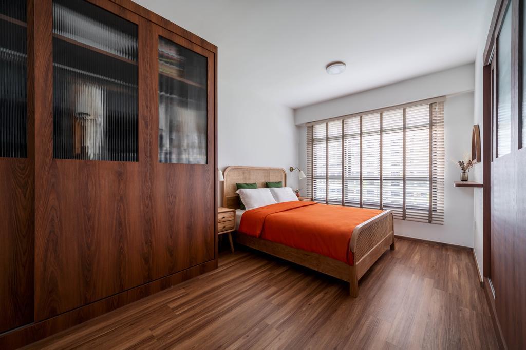 Retro, HDB, Bedroom, Tampines North Drive 1, Interior Designer, Ethereall
