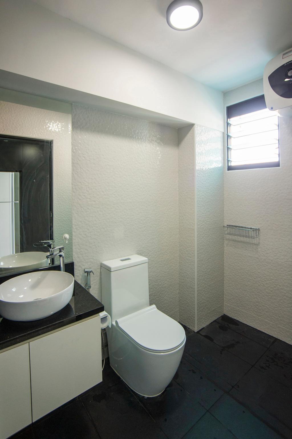 Modern, HDB, Bathroom, Hougang Street 51, Interior Designer, New Age Interior, Contemporary
