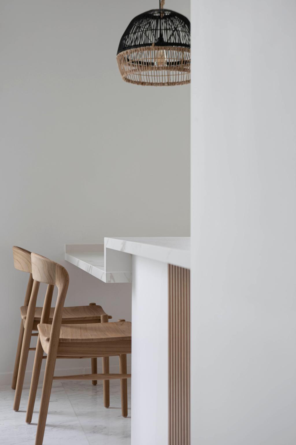 Modern, Condo, Dining Room, Reflections at Keppel Bay, Interior Designer, Fifth Avenue Interior, Scandinavian