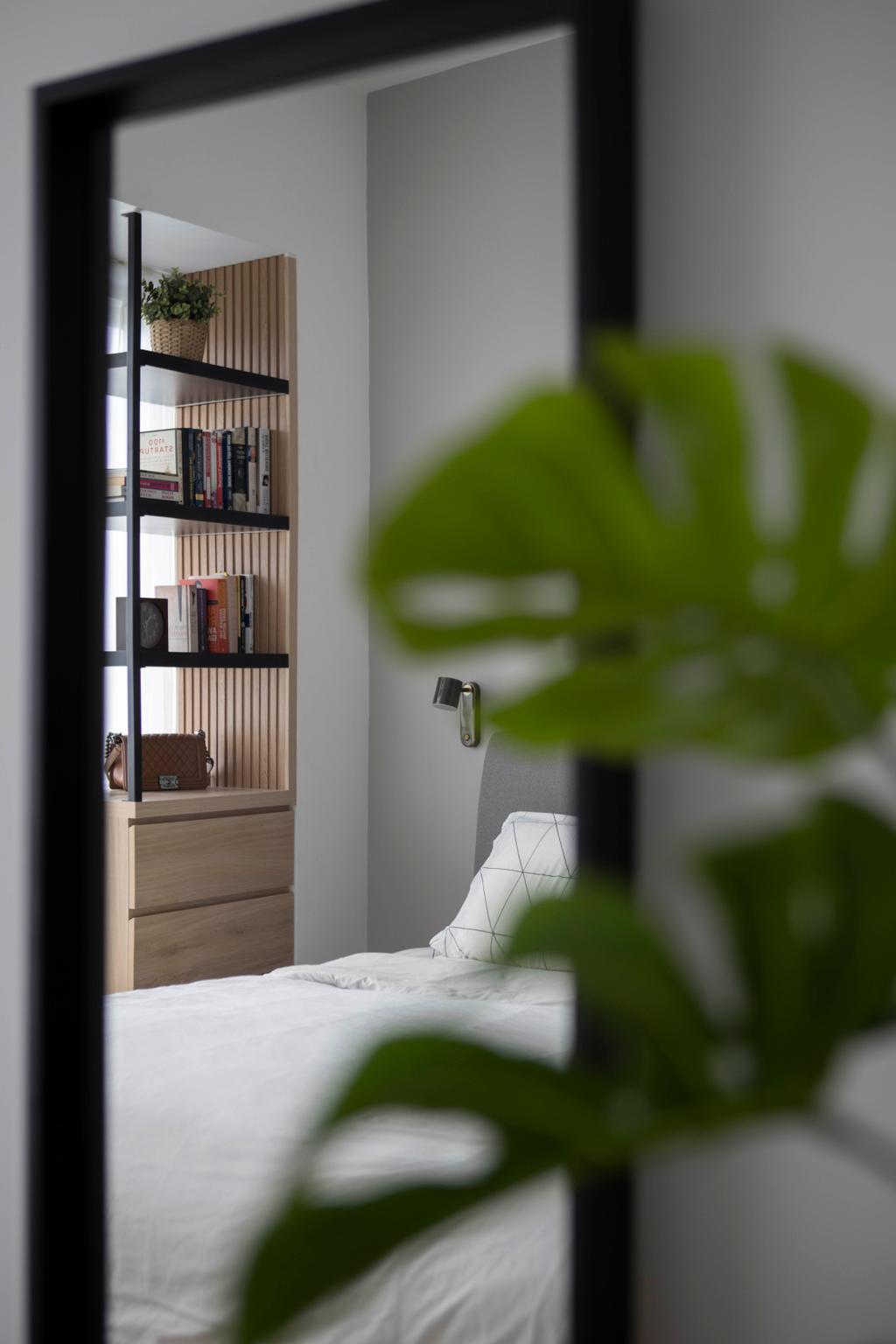 Modern, Condo, Bedroom, Reflections at Keppel Bay, Interior Designer, Fifth Avenue Interior, Scandinavian