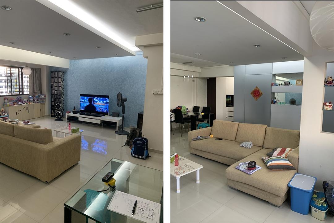 bukit panjang 5-room HDB flat renovation