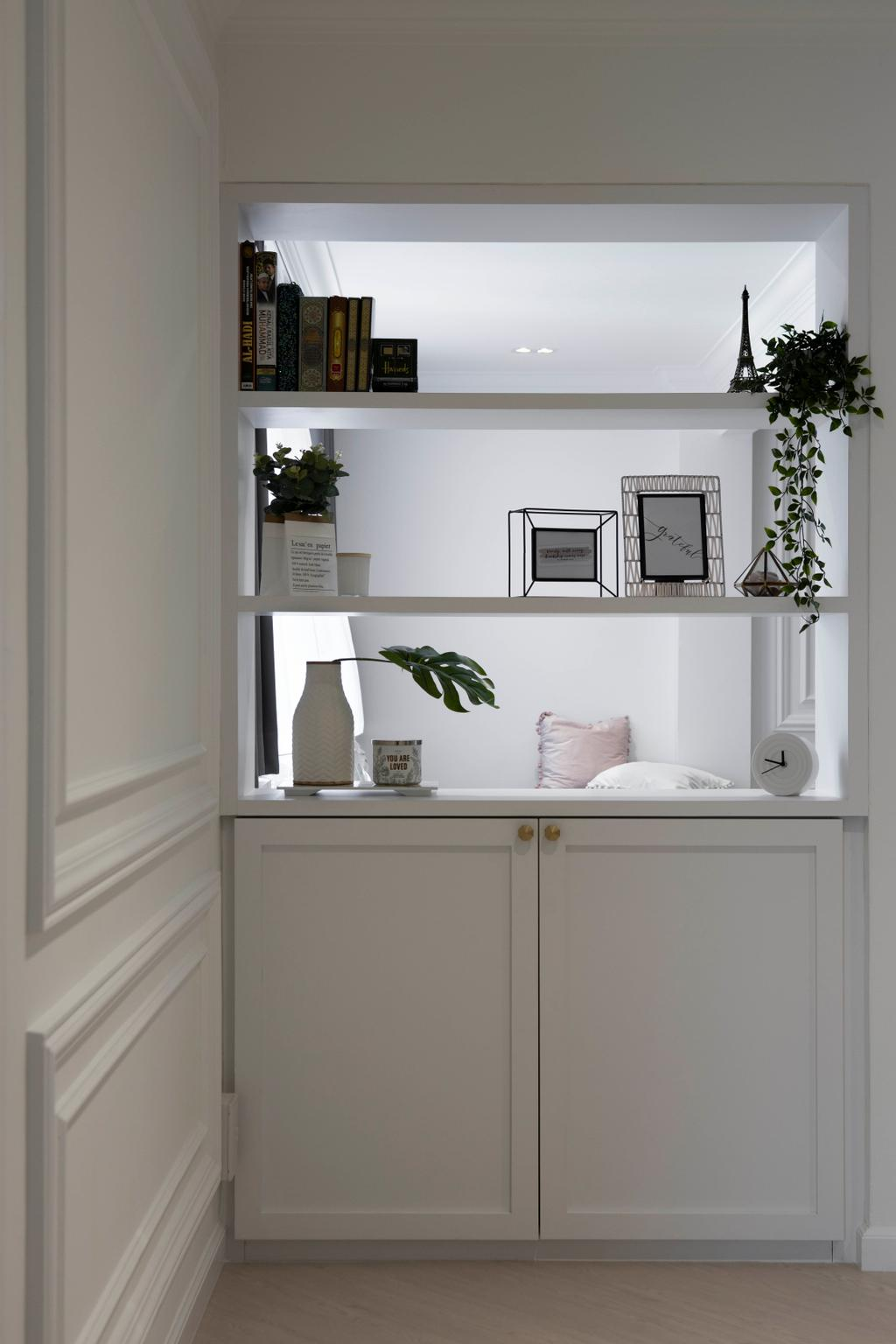 Contemporary, HDB, Living Room, Tampines Street 32, Interior Designer, Fifth Avenue Interior
