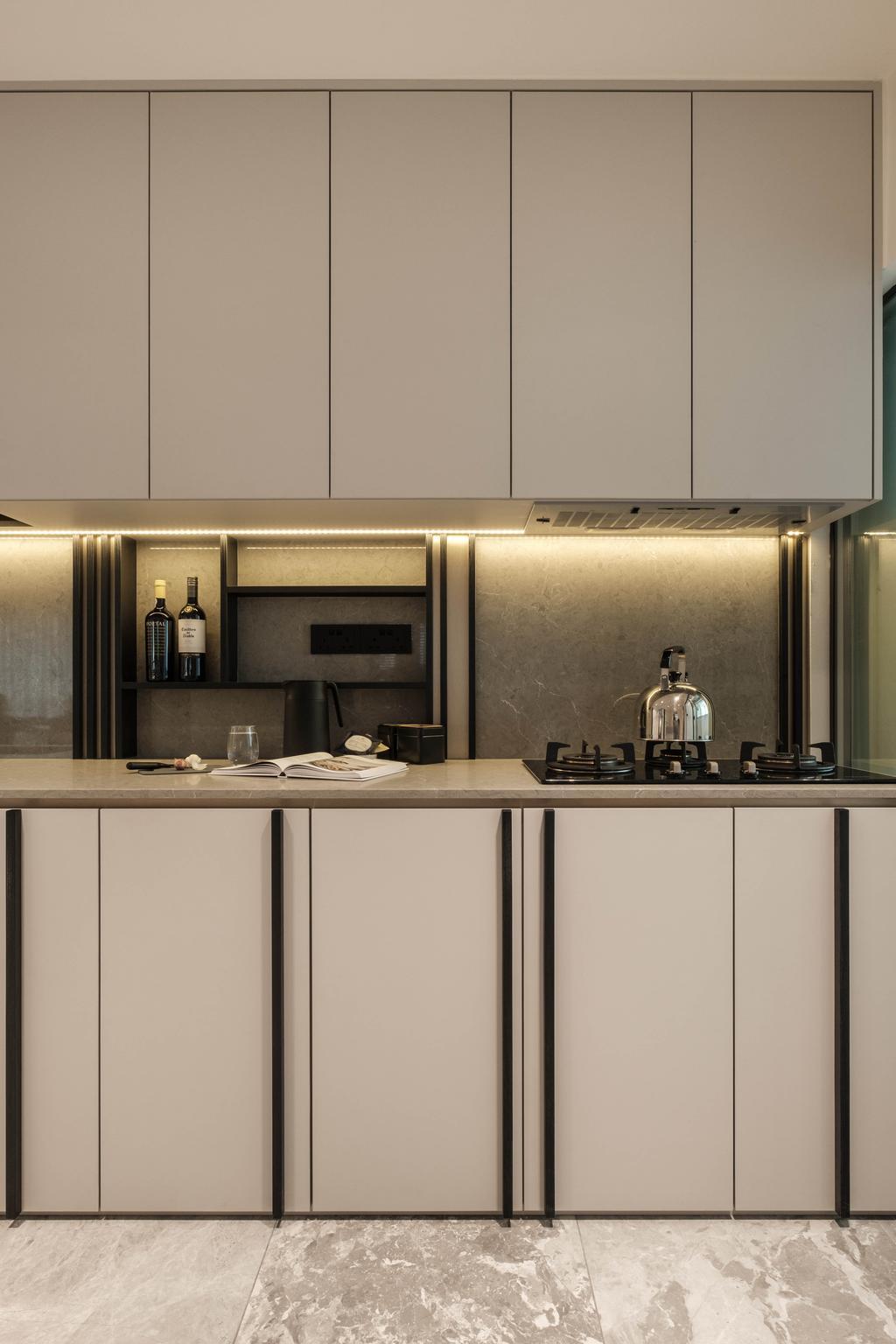 Modern, HDB, Kitchen, Sumang Lane, Interior Designer, HOFT, Contemporary