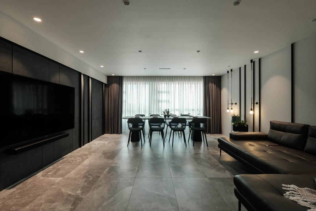 Modern, HDB, Living Room, Sumang Lane, Interior Designer, HOFT, Contemporary