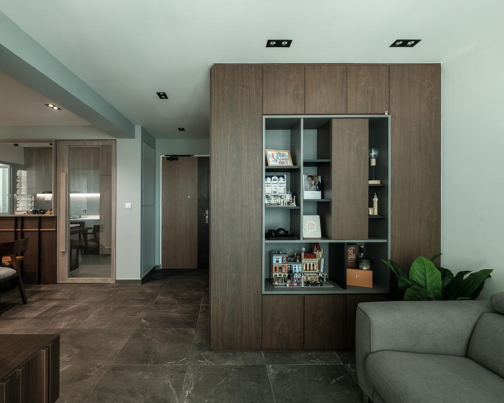 Contemporary, HDB, Living Room, Bidadari Park Drive, Interior Designer, HOFT