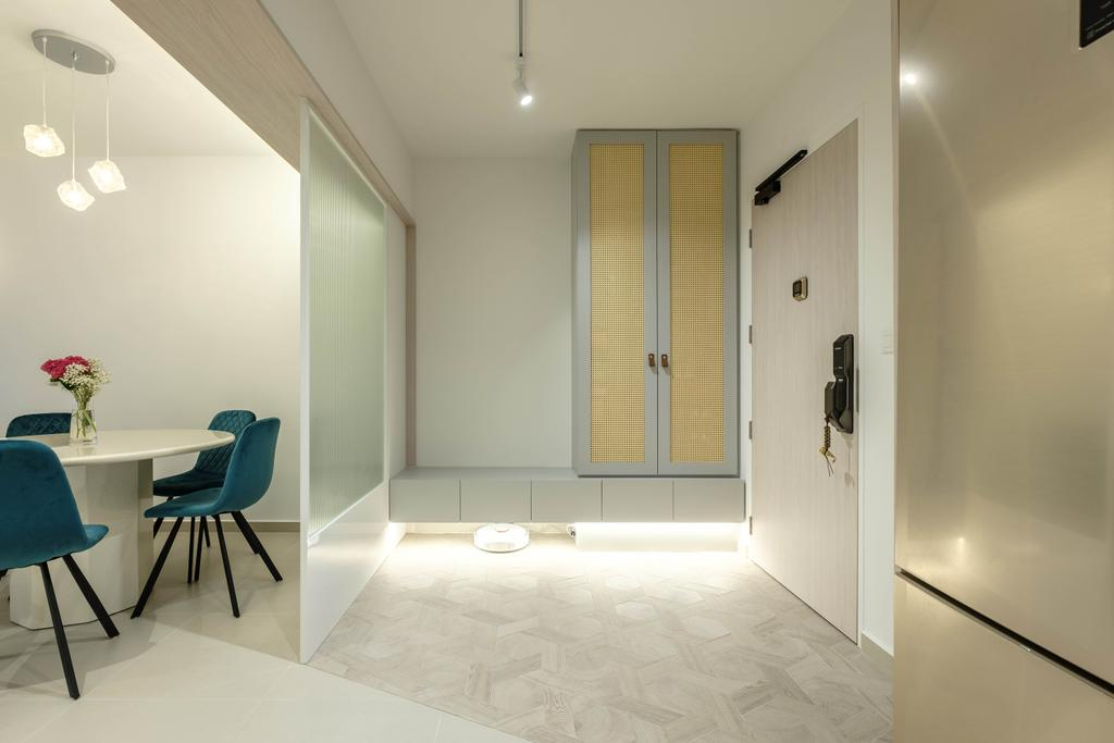 Modern, HDB, Living Room, Sengkang West Way, Interior Designer, HOFT
