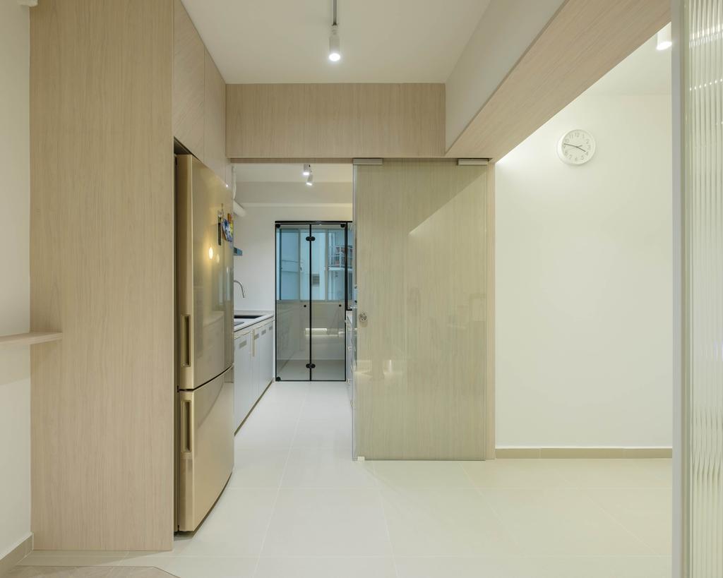 Modern, HDB, Kitchen, Sengkang West Way, Interior Designer, HOFT