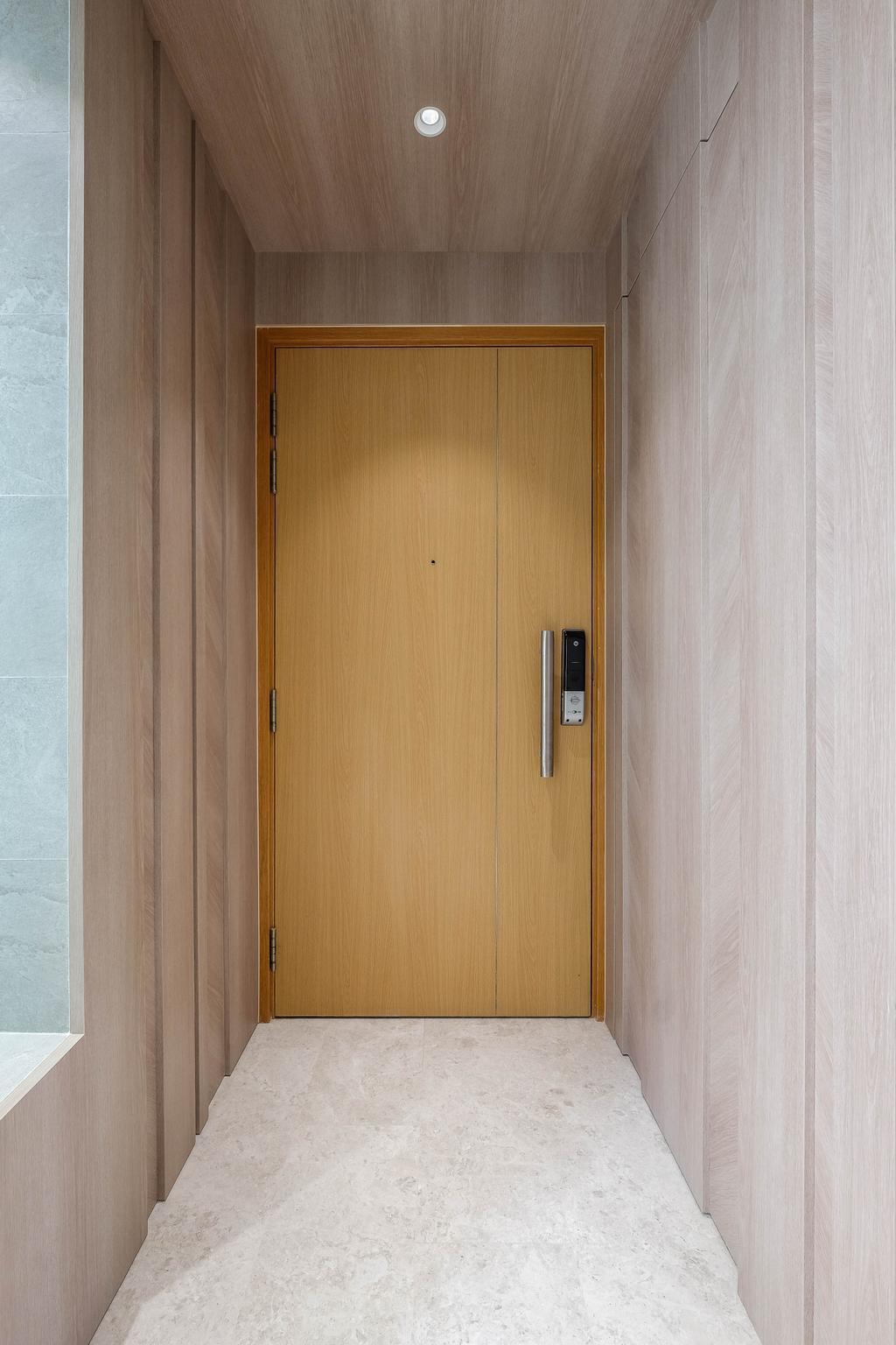 Contemporary, Condo, Living Room, The Calrose, Interior Designer, HOFT