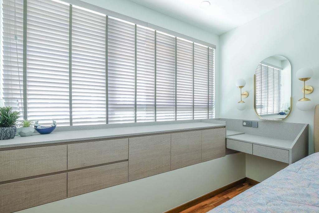 Contemporary, Condo, Bedroom, The Calrose, Interior Designer, HOFT