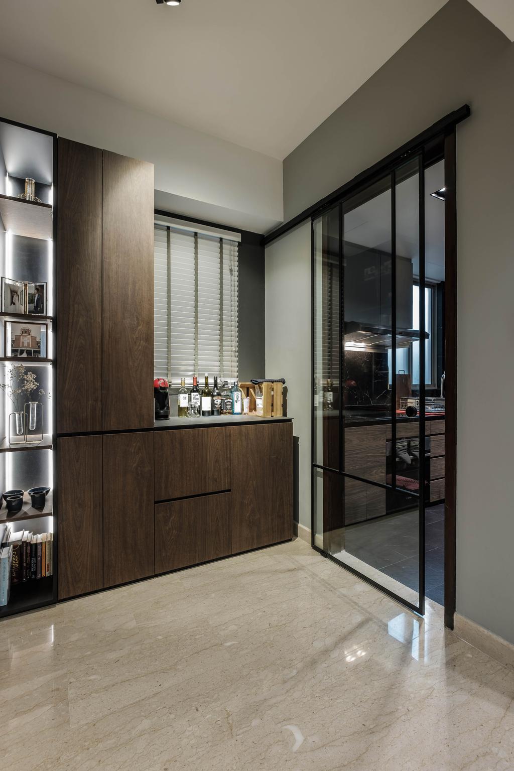 Contemporary, Condo, Living Room, Maplewoods, Interior Designer, HOFT