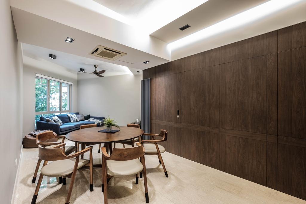 Contemporary, Condo, Dining Room, Maplewoods, Interior Designer, HOFT