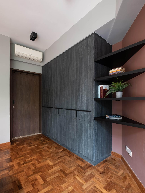 Contemporary, Condo, Bedroom, Maplewoods, Interior Designer, HOFT, Awkward Corner