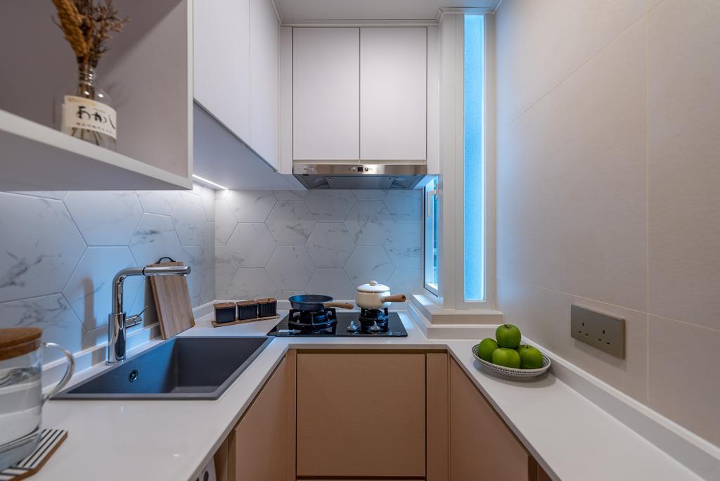 簡約, 私家樓, 廚房, 華寶大廈, 室內設計師, Deco Farmer Studio