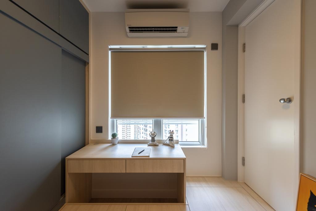 簡約, 公屋/居屋, 睡房, 冠德苑, 室內設計師, Deco Farmer Studio