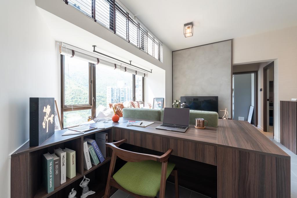 摩登, 私家樓, 客廳, 觀海樓, 室內設計師, Deco Farmer Studio
