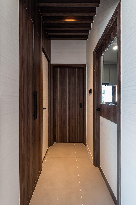 摩登, 私家樓, 客廳, 觀海樓, 室內設計師, Deco Farmer Studio, Corridor