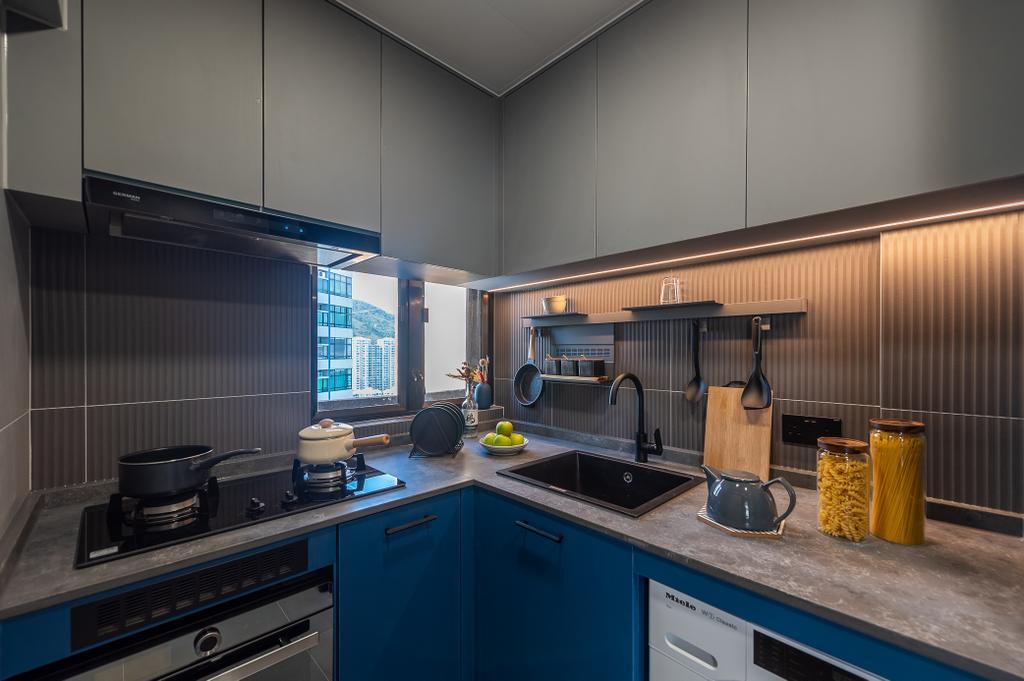 摩登, 私家樓, 廚房, 觀海樓, 室內設計師, Deco Farmer Studio
